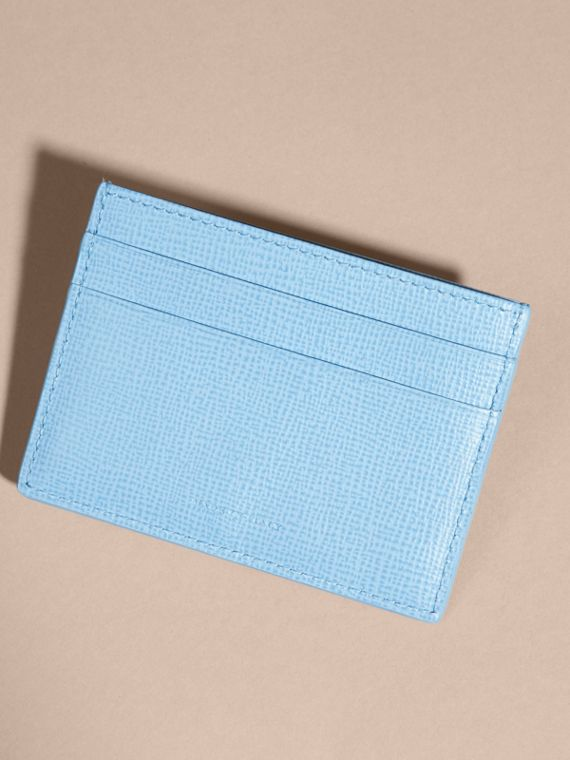 London Leather Card Case Powder Blue - cell image 2