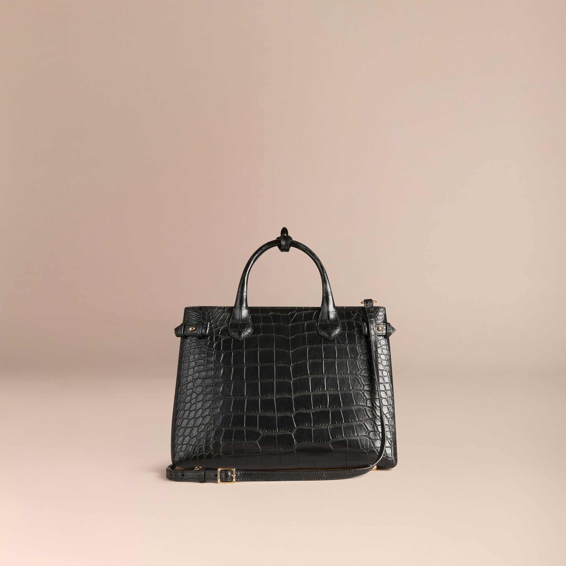 Sac The Banner medium en alligator - photo de la galerie 4