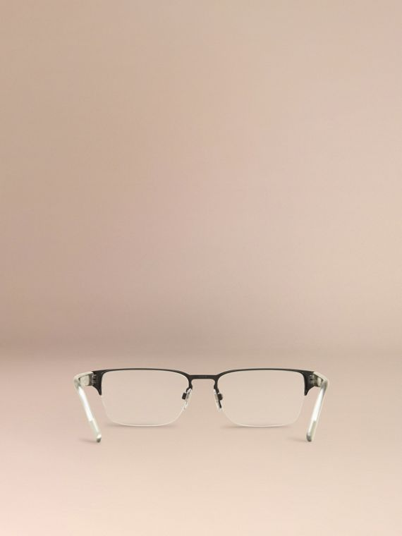 Check Detail Rectangular Optical Frames in Black - cell image 2