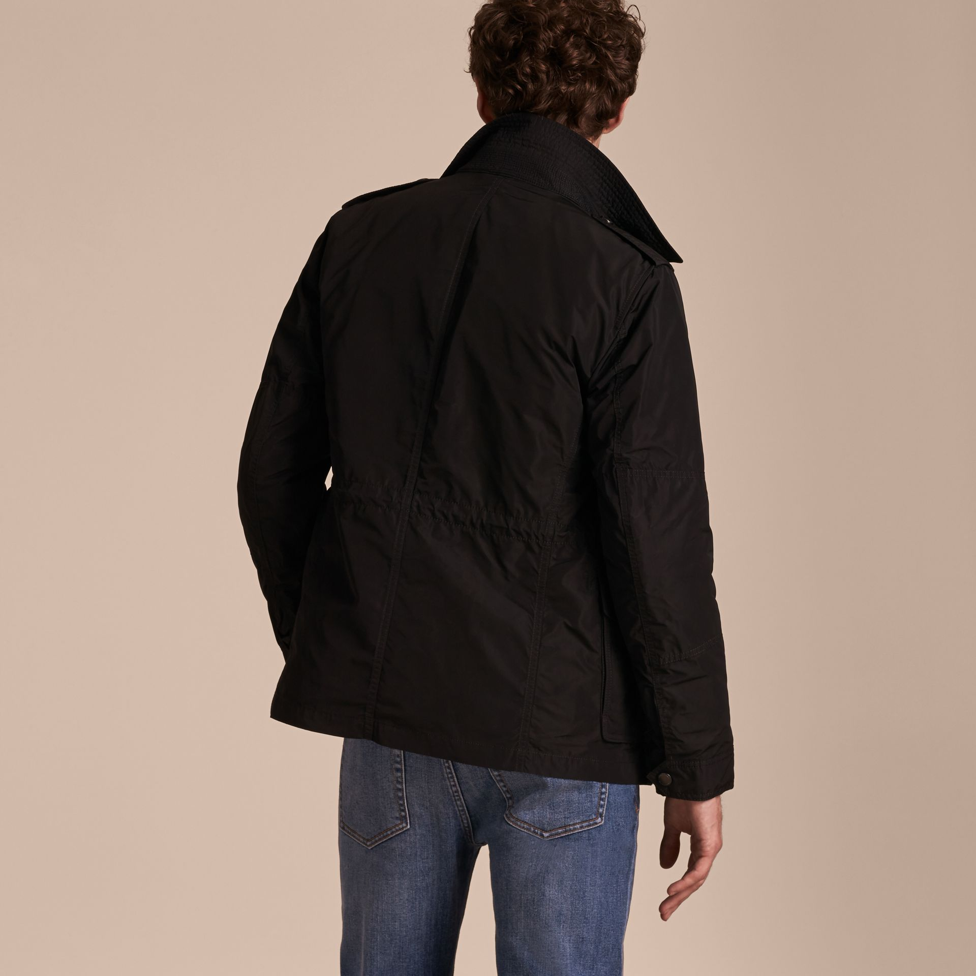 Lightweight Technical Field Jacket with Removable Warmer - gallery image 3