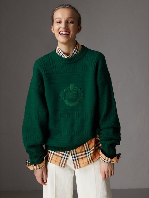 Suéter de lã - Reedição (Verde Escuro)