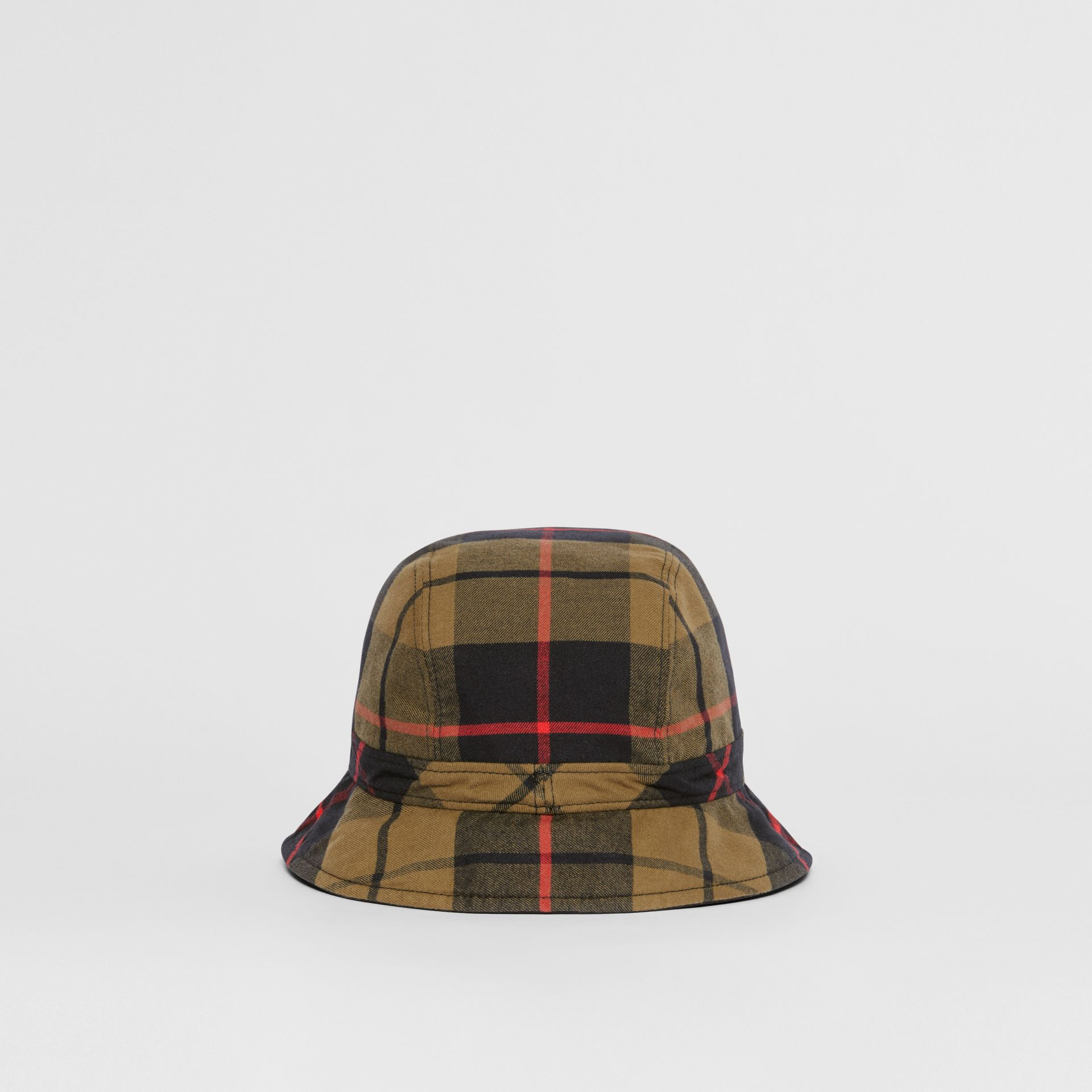 Reversible Monogram Motif Bucket Hat in Military Olive | Burberry Singapore - gallery image 6