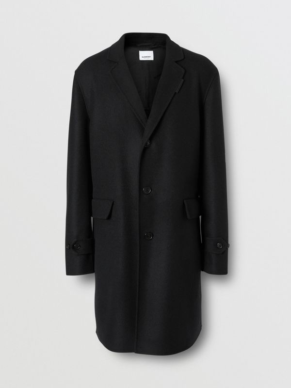 Wool Cashmere Lab Coat in Black - Men | Burberry - cell image 2