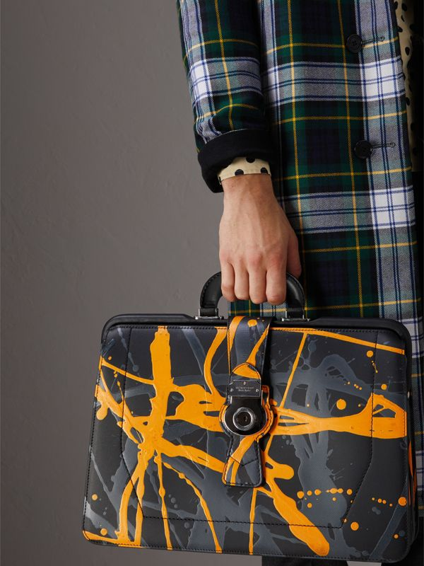 The DK88 Splash Doctor's Bag in Black/splash - Men | Burberry United Kingdom - cell image 3
