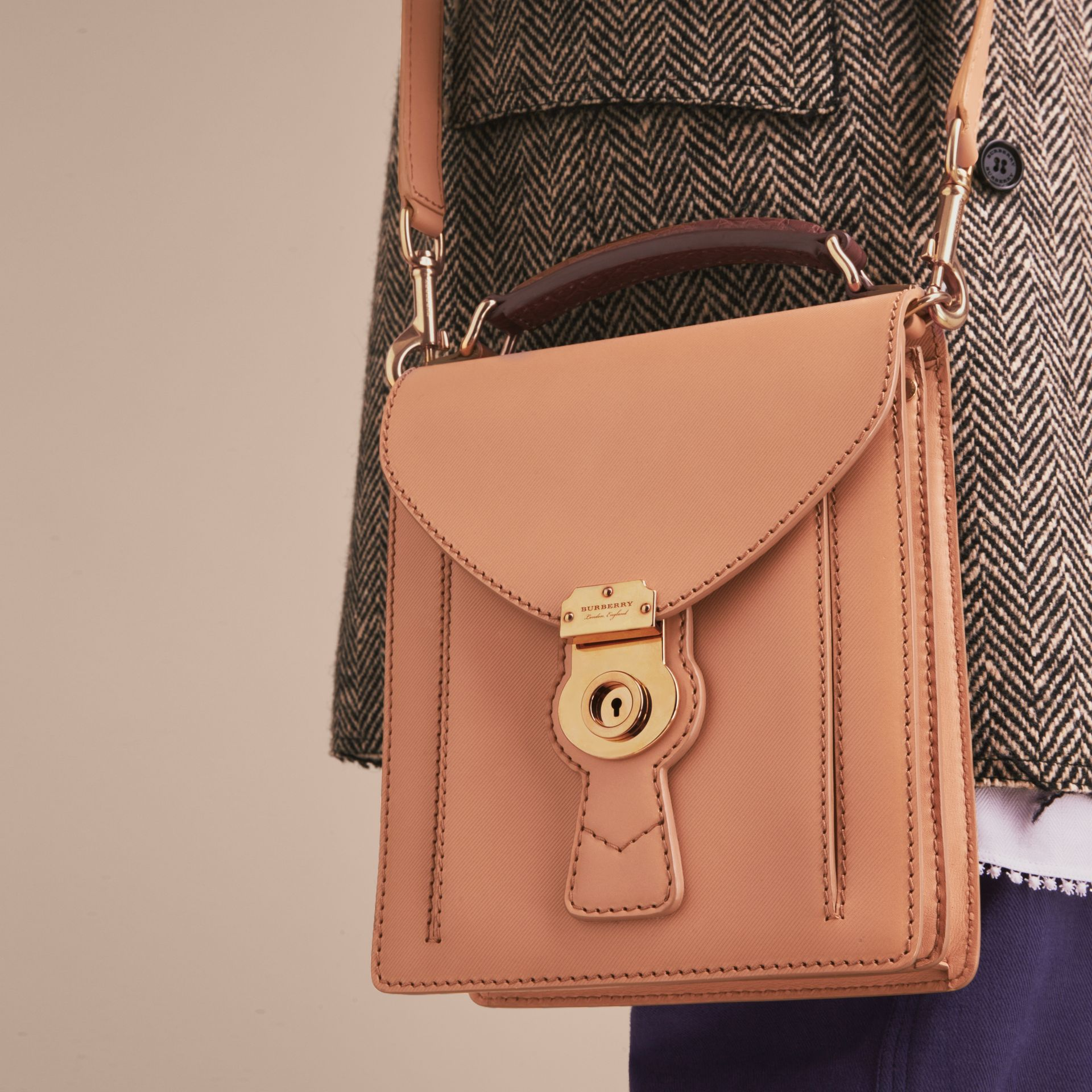 The Small DK88 Satchel with Alligator - gallery image 5