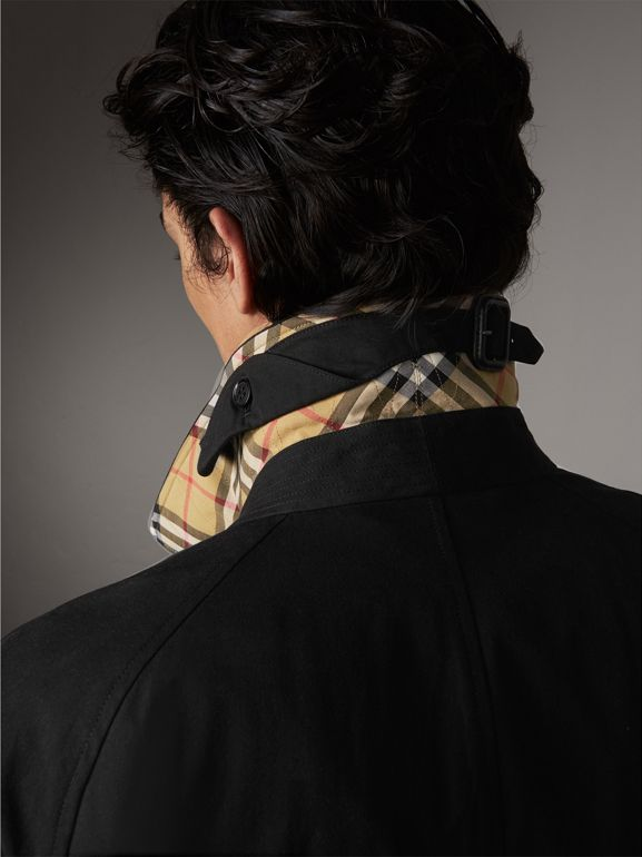 The Brighton Car Coat – Online Exclusive in Black - Men | Burberry United Kingdom - cell image 1