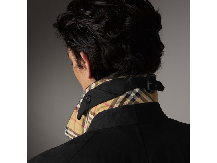 The Brighton – Extra-long Car Coat in Black - Men | Burberry - cell image 1