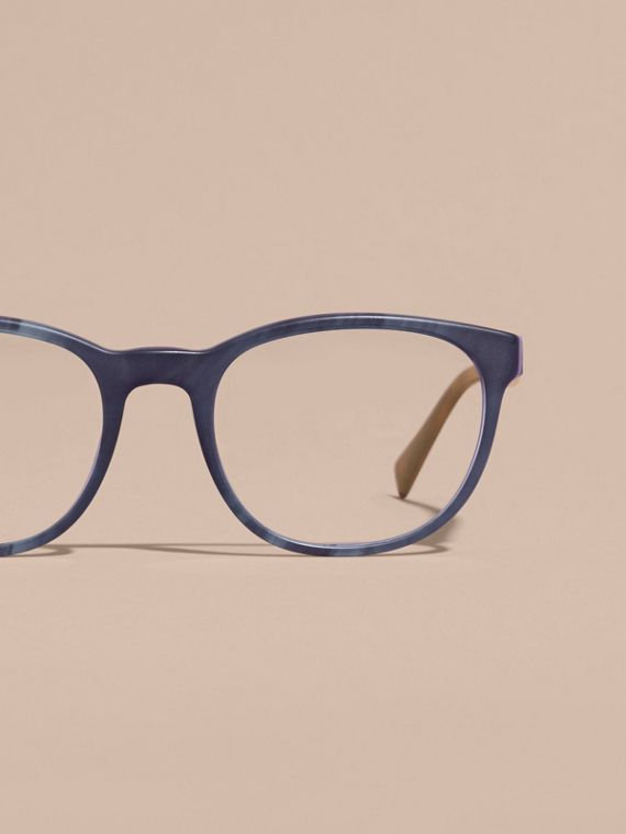 Square Optical Frames Deep Blue - cell image 2