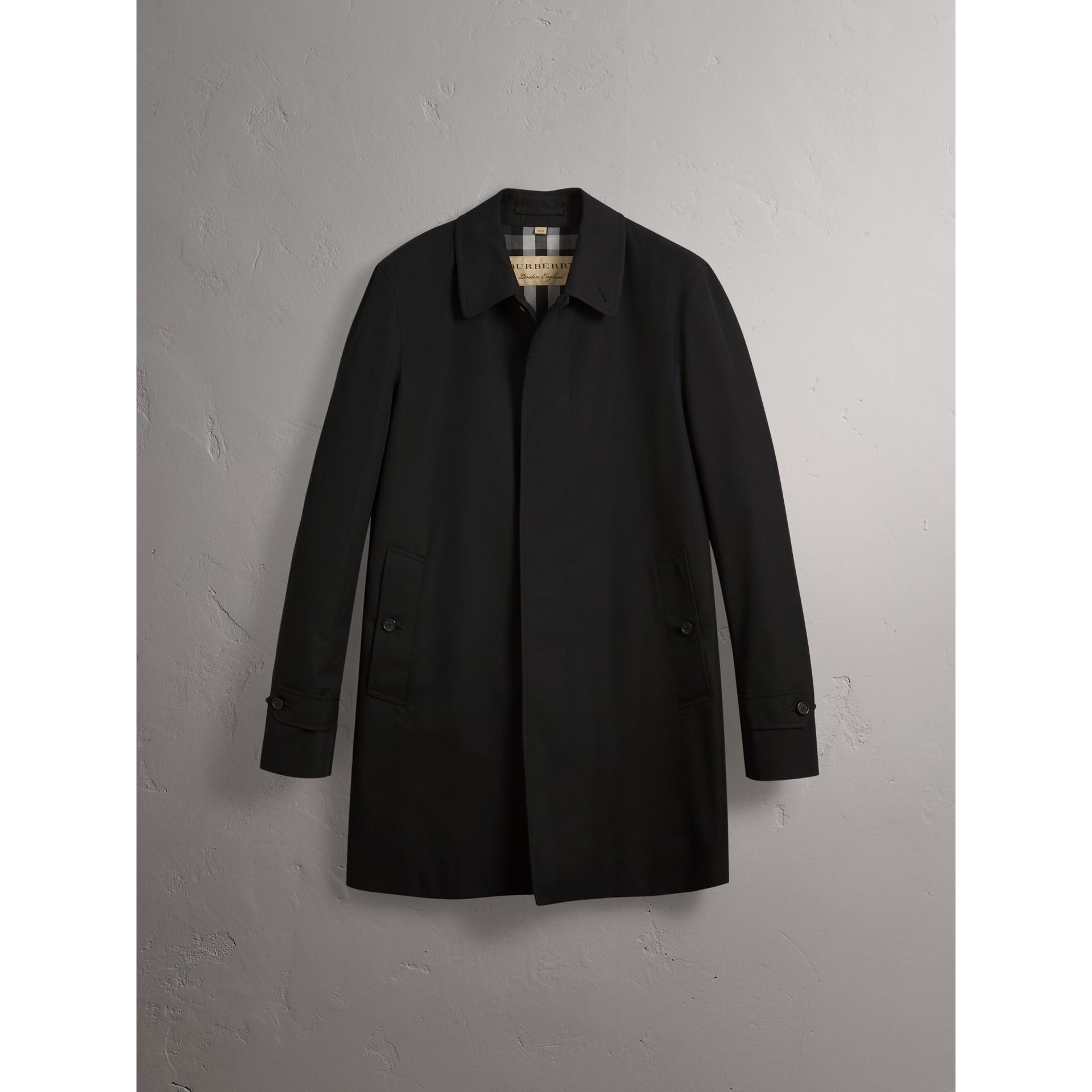 Kurzmantel aus Baumwollgabardine (Schwarz) - Herren | Burberry - Galerie-Bild 4