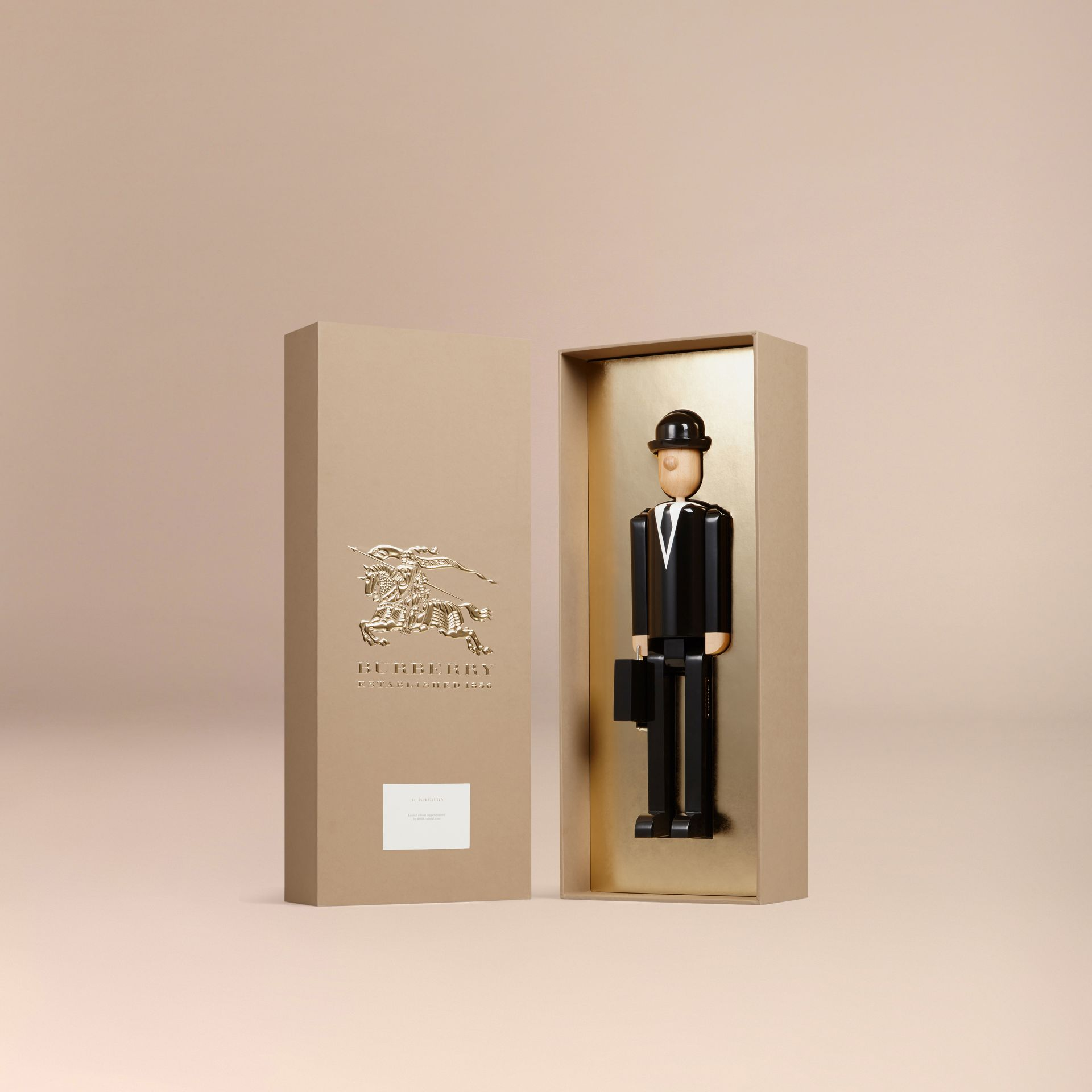 Multicolour The City Gent Limited Edition Wooden Puppet - gallery image 3