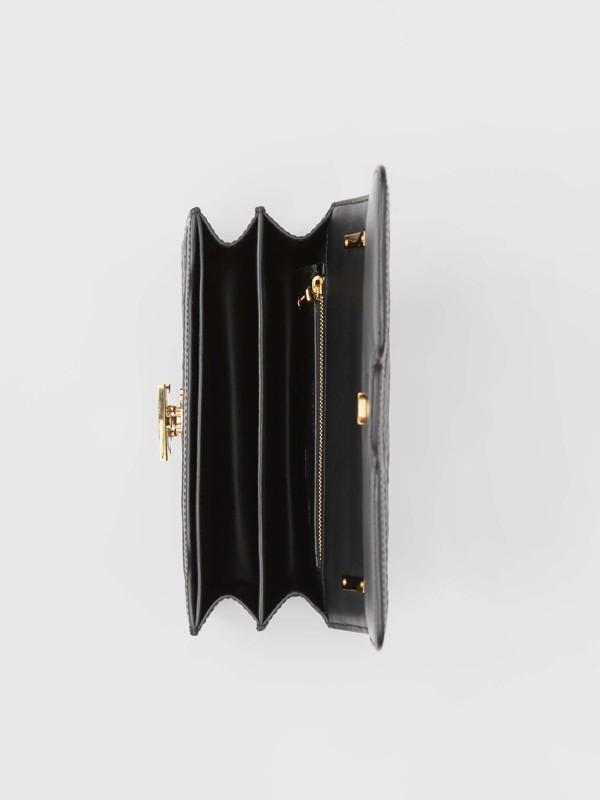 Bolsa TB de couro de cordeiro com monograma - Pequena (Preto) - Mulheres | Burberry - cell image 3