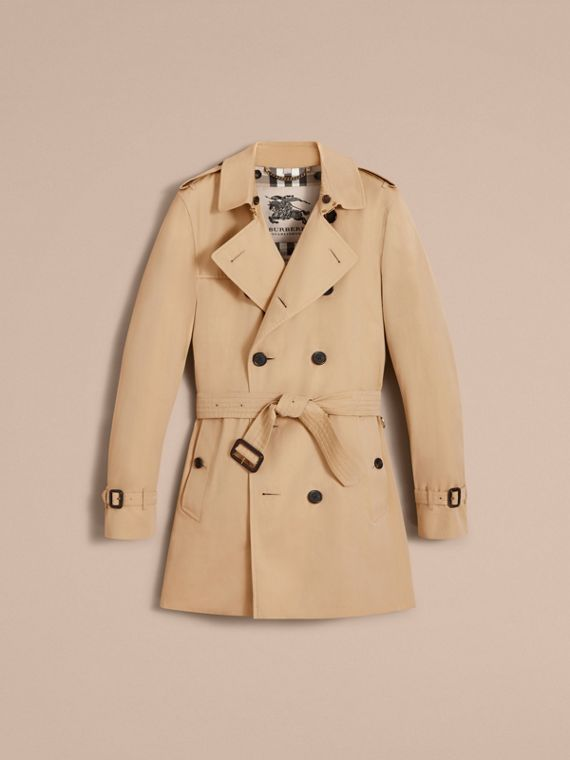 The Kensington – Mid-Length Heritage Trench Coat in Honey - cell image 3