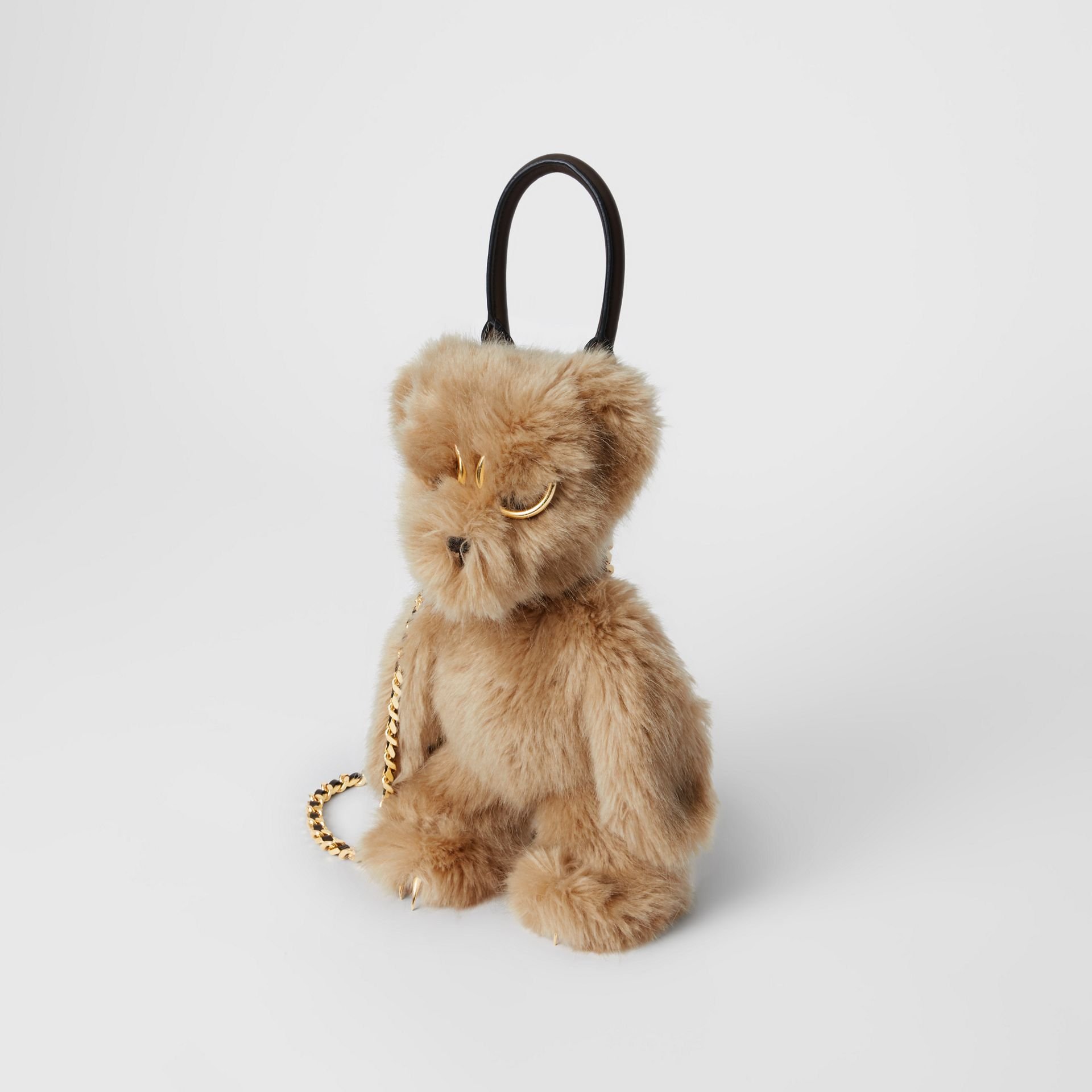 The Thomas Bear Shoulder Bag in Beige - Women | Burberry Australia - gallery image 4