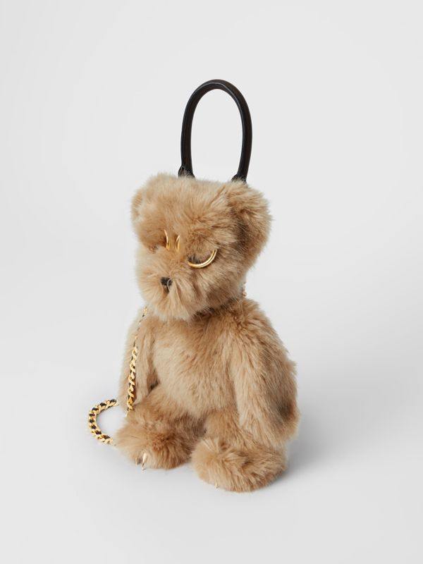 The Thomas Bear Shoulder Bag in Beige - Women | Burberry - cell image 2