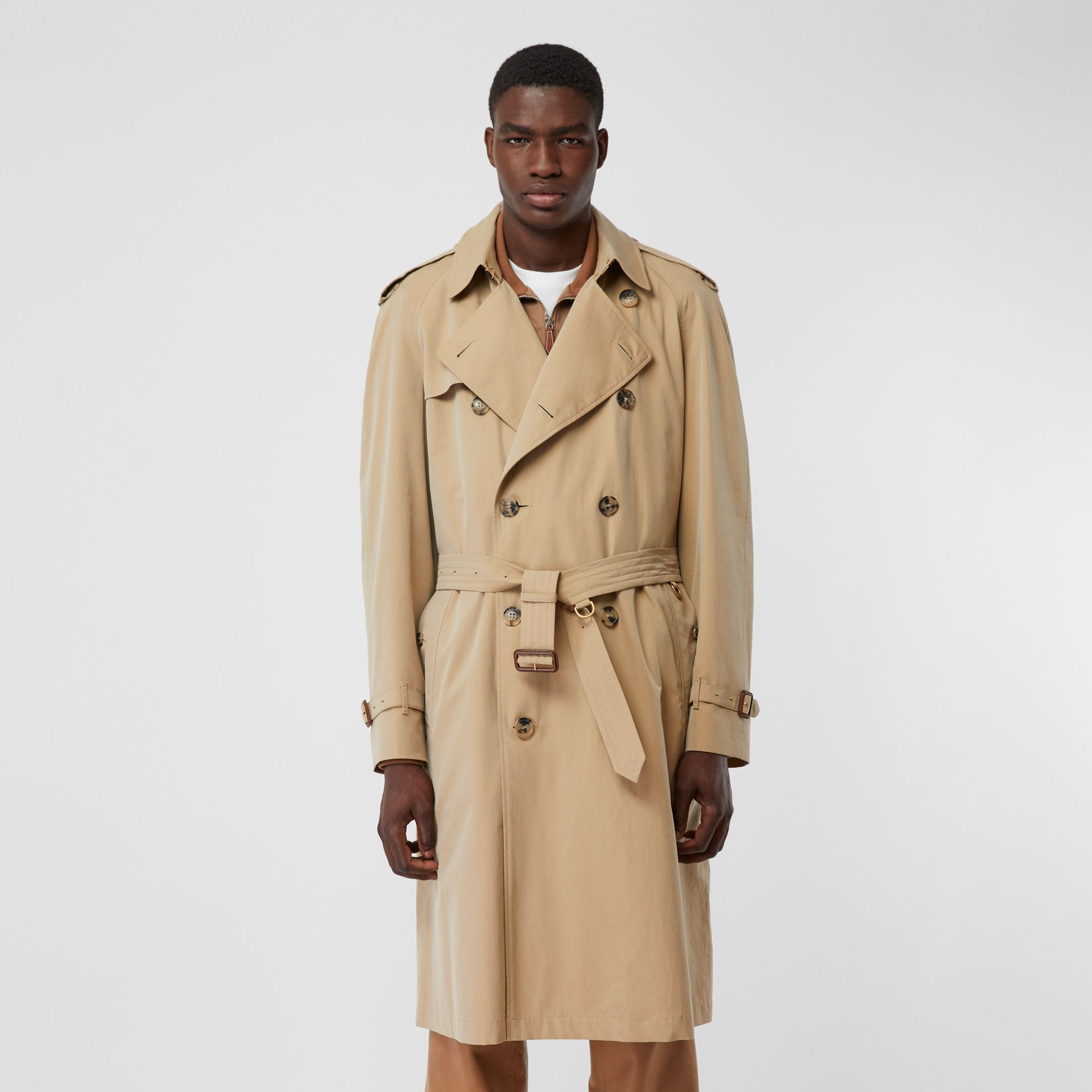 The Westminster Heritage Trench Coat in Honey - Men | Burberry - gallery image 7