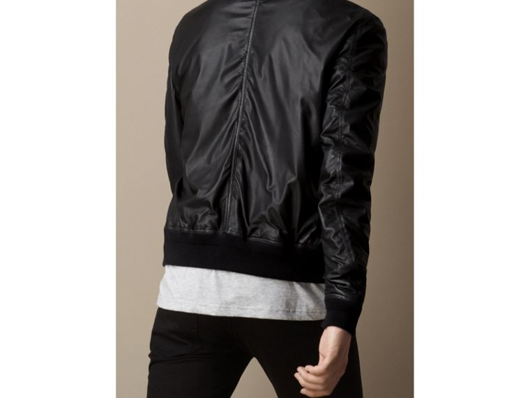 Nappa Leather Bomber Jacket - cell image 1