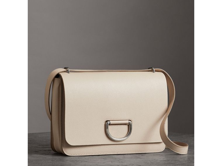 Borsa The D-ring media in pelle (Pietra) - Donna | Burberry - cell image 4
