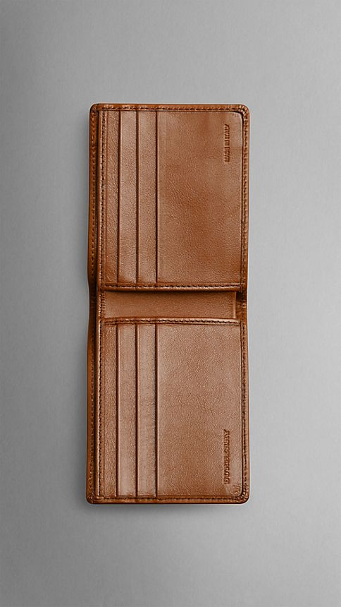 Tan Horseferry Check Wallet - Image 3