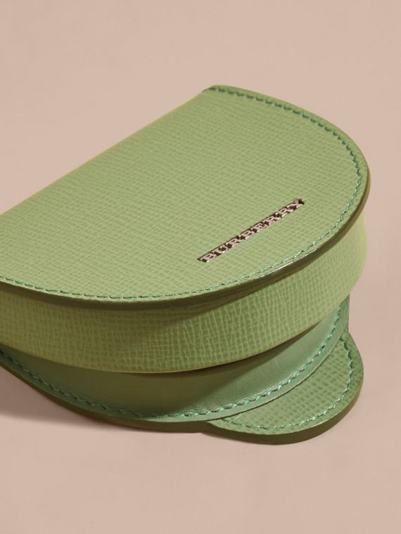 London Leather Coin Case in Antique Green - cell image 2