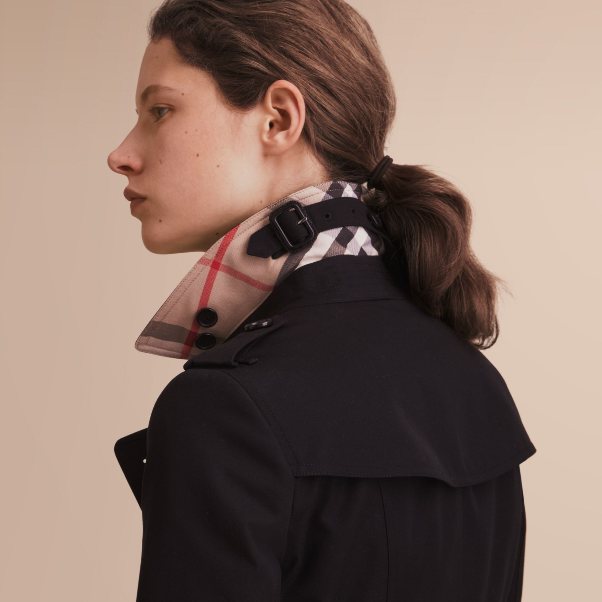 The Chelsea – Trench Heritage long (Noir) - photo de la galerie 6