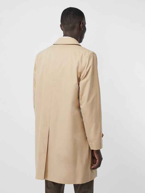 The Pimlico Car Coat in Honey - Men | Burberry Australia - cell image 2