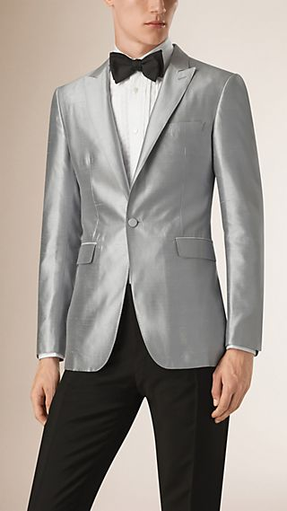 Slim Fit Silk Full-canvas Tuxedo Jacket
