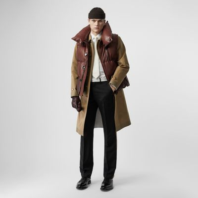 Down Filled Lambskin Puffer Gilet by Burberry