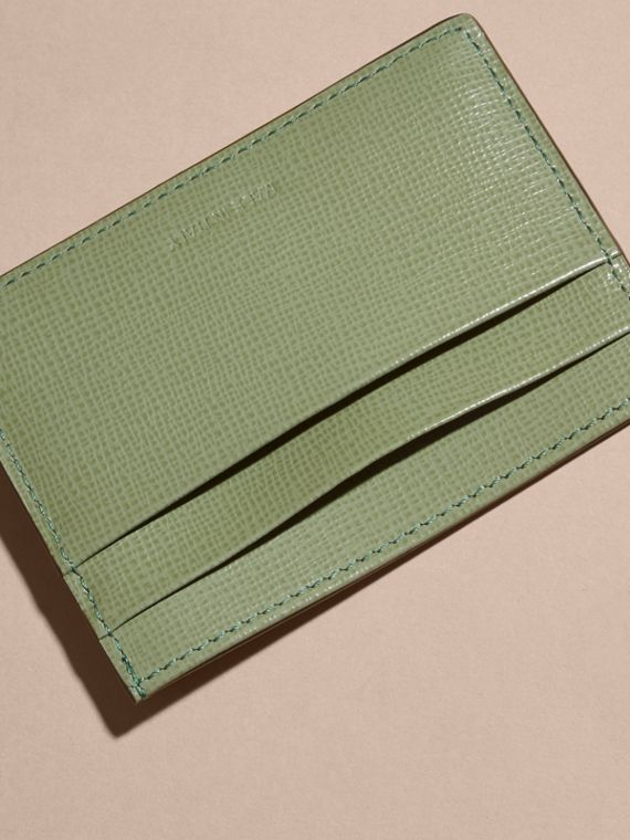 London Leather Card Case Antique Green - cell image 3