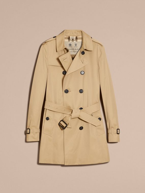 Honey The Chelsea – Mid-length Heritage Trench Coat Honey - cell image 3
