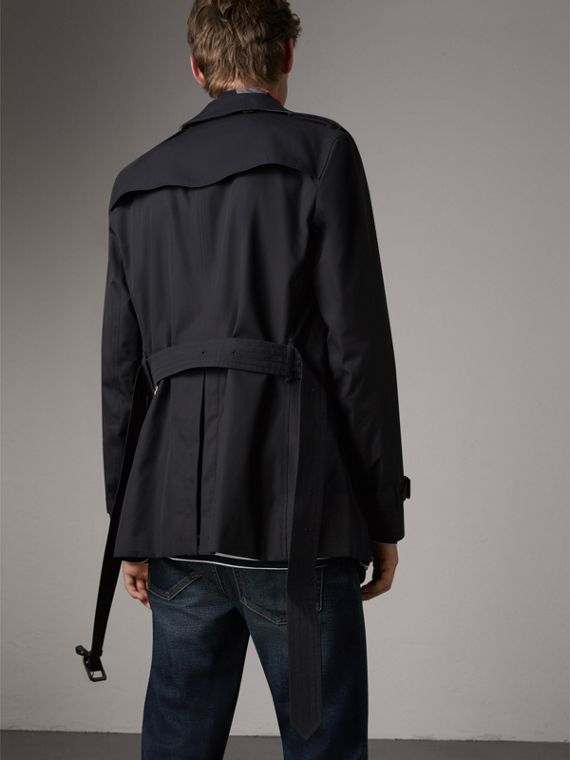 The Sandringham – Short Trench Coat in Navy - Men | Burberry Canada - cell image 2