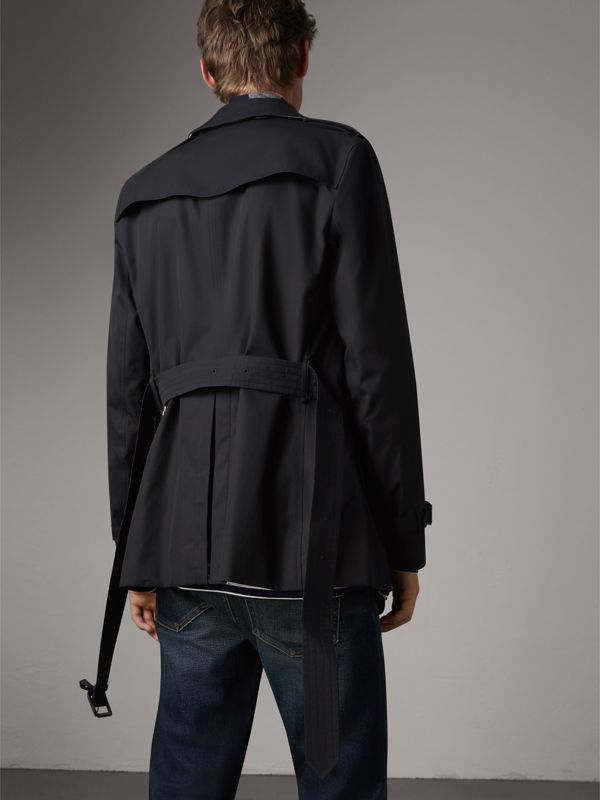 The Sandringham – Short Trench Coat in Navy - Men | Burberry - cell image 2