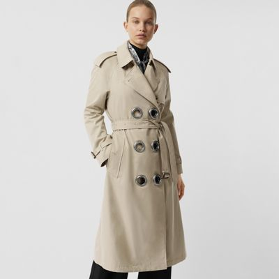 Burberry Coats Trench Pour Beiges Femme 8vCn8wgq