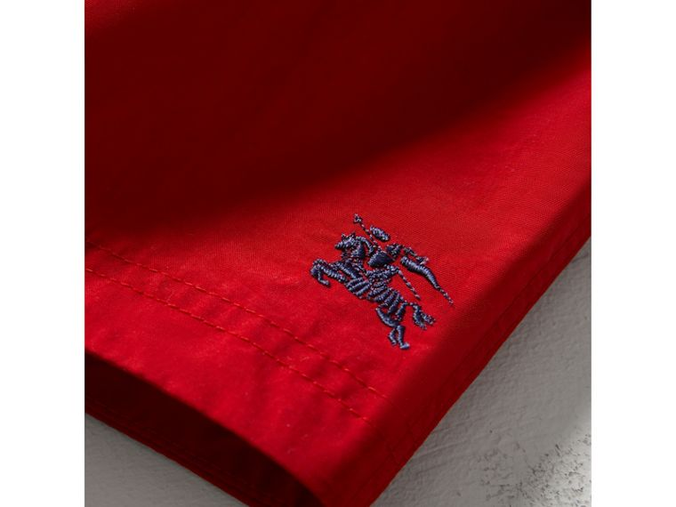 Quick-dry Swim Shorts in Military Red | Burberry - cell image 1