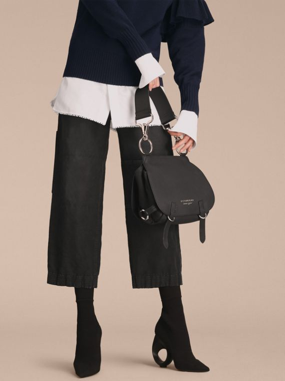 The Bridle Bag in Deerskin in Black - Women | Burberry United Kingdom - cell image 2