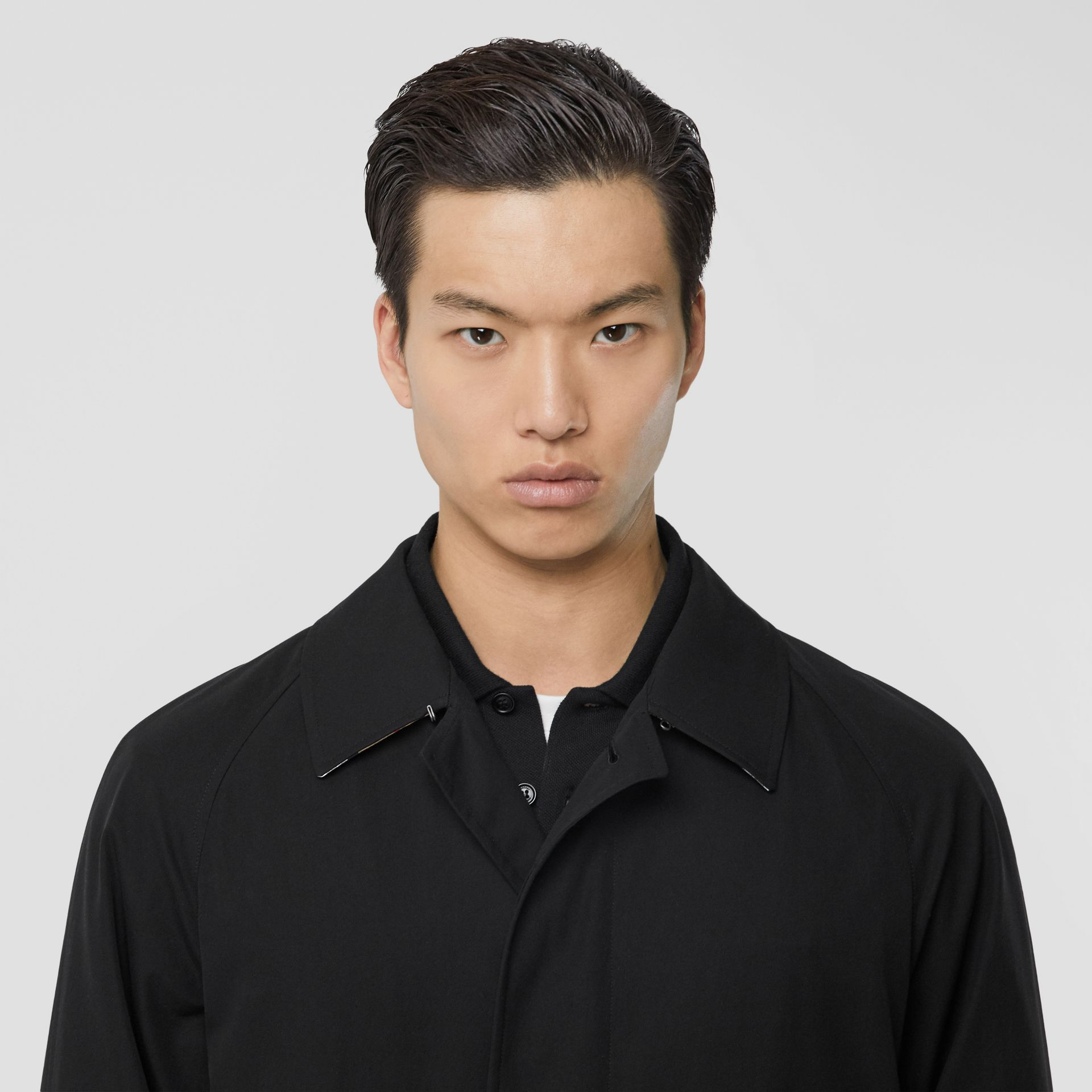 The Camden Car Coat in Black - Men | Burberry Hong Kong S.A.R - gallery image 8