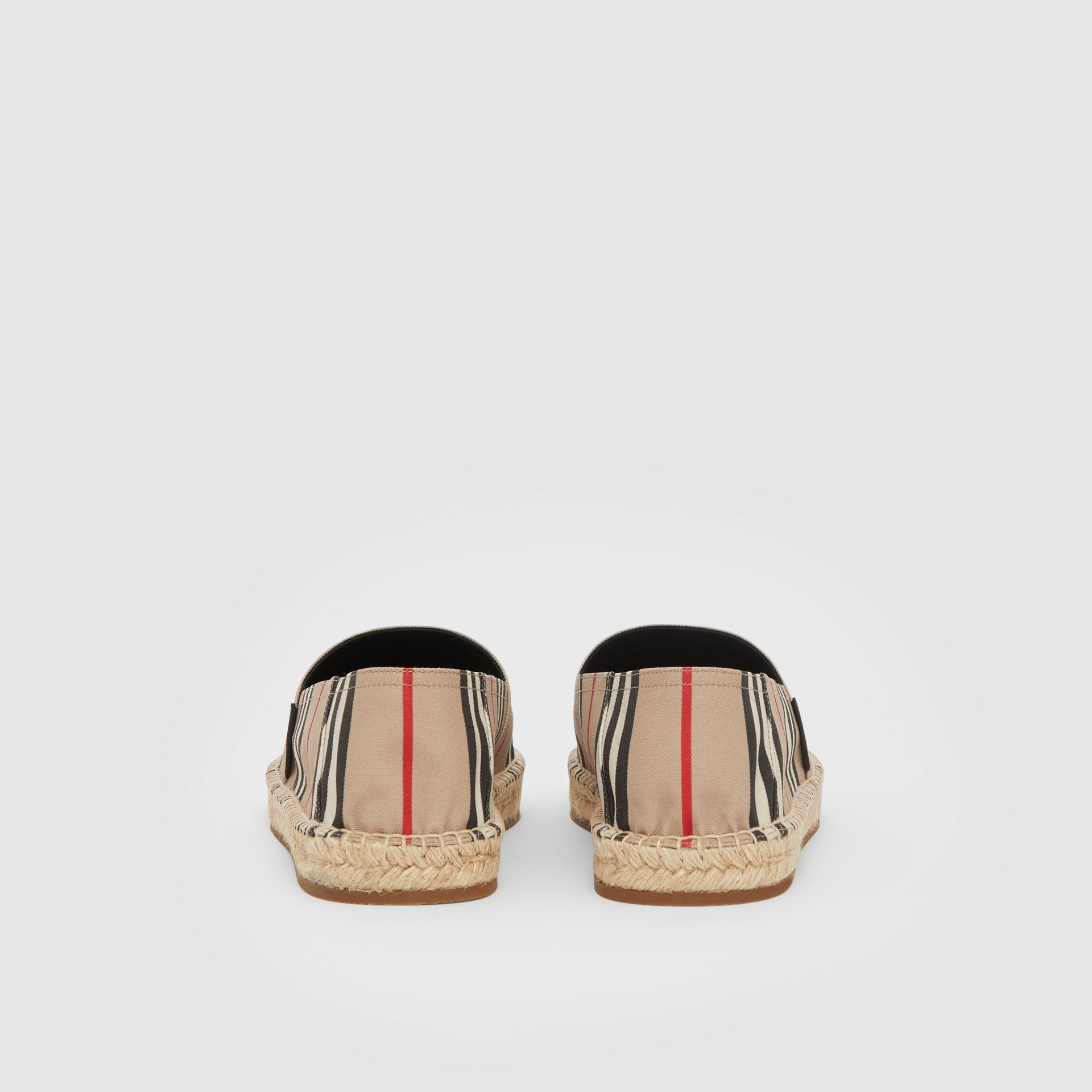 Icon Stripe Espadrilles in Archive Beige - Men | Burberry United Kingdom - gallery image 3