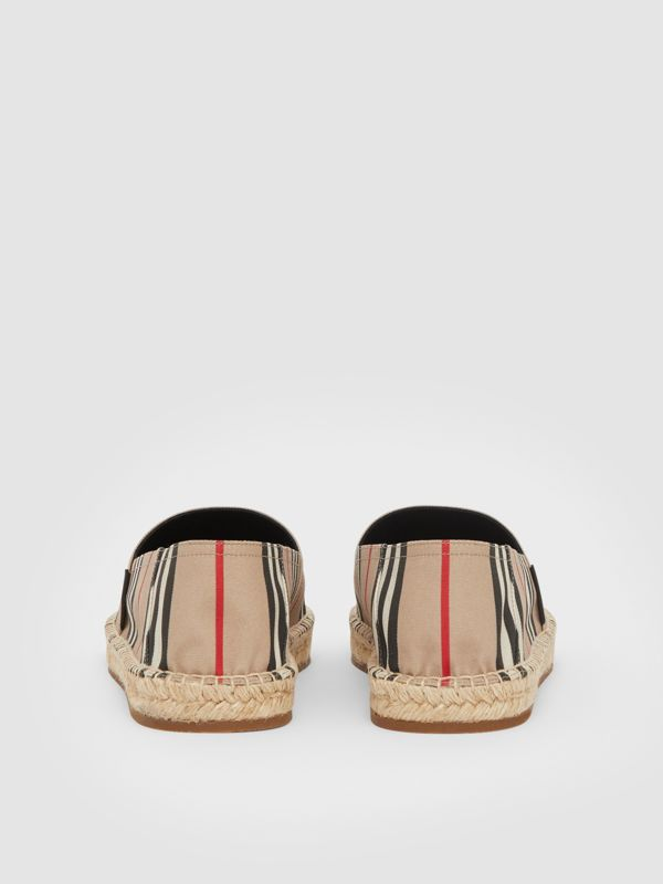 Icon Stripe Espadrilles in Archive Beige - Men | Burberry United Kingdom - cell image 3