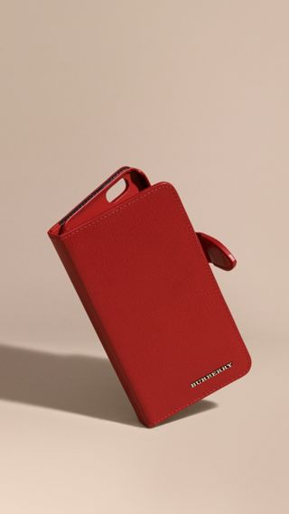 London Leather iPhone 6 Flip Case