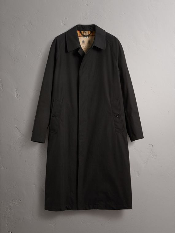 The Brighton – Extra-long Car Coat in Black - Men | Burberry - cell image 3