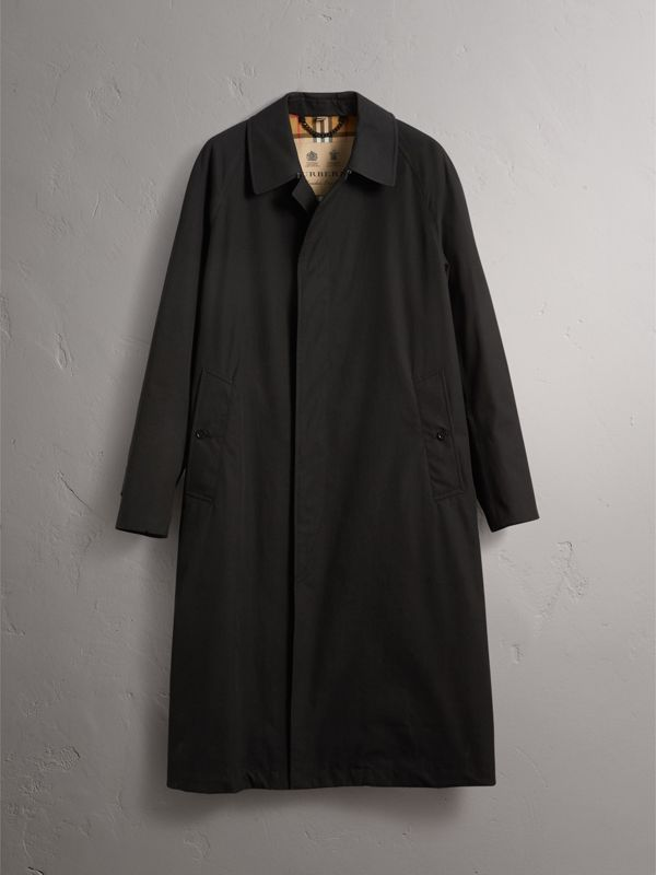 The Brighton Car Coat – Online Exclusive in Black - Men | Burberry United Kingdom - cell image 3