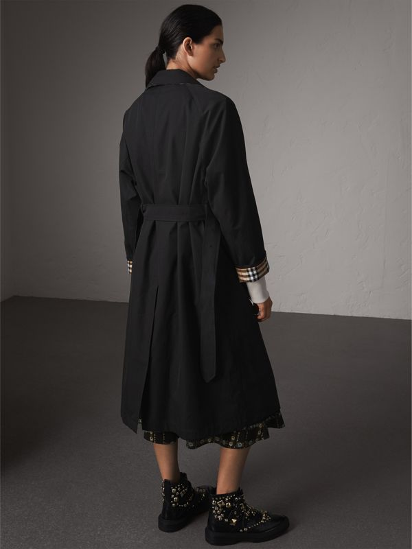 The Brighton Car Coat in Black - Women | Burberry United Kingdom - cell image 2