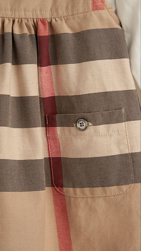 New classic Check Cotton Dress - Image 3