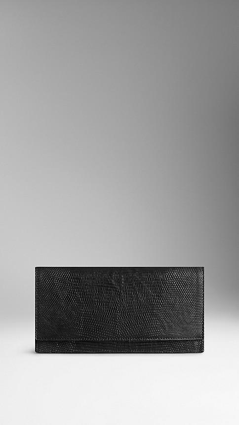 Black Lizard Continental Wallet - Image 1