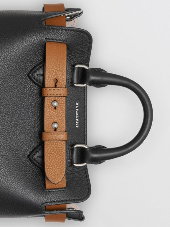 The Mini Leather Belt Bag in Black - Women | Burberry - cell image 1