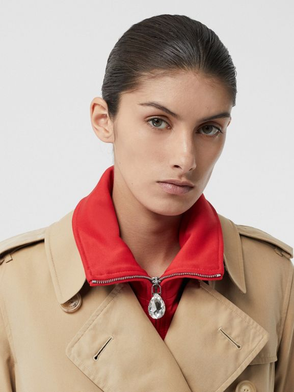 The Kensington – Trench Heritage long (Miel) - Femme | Burberry Canada - cell image 1