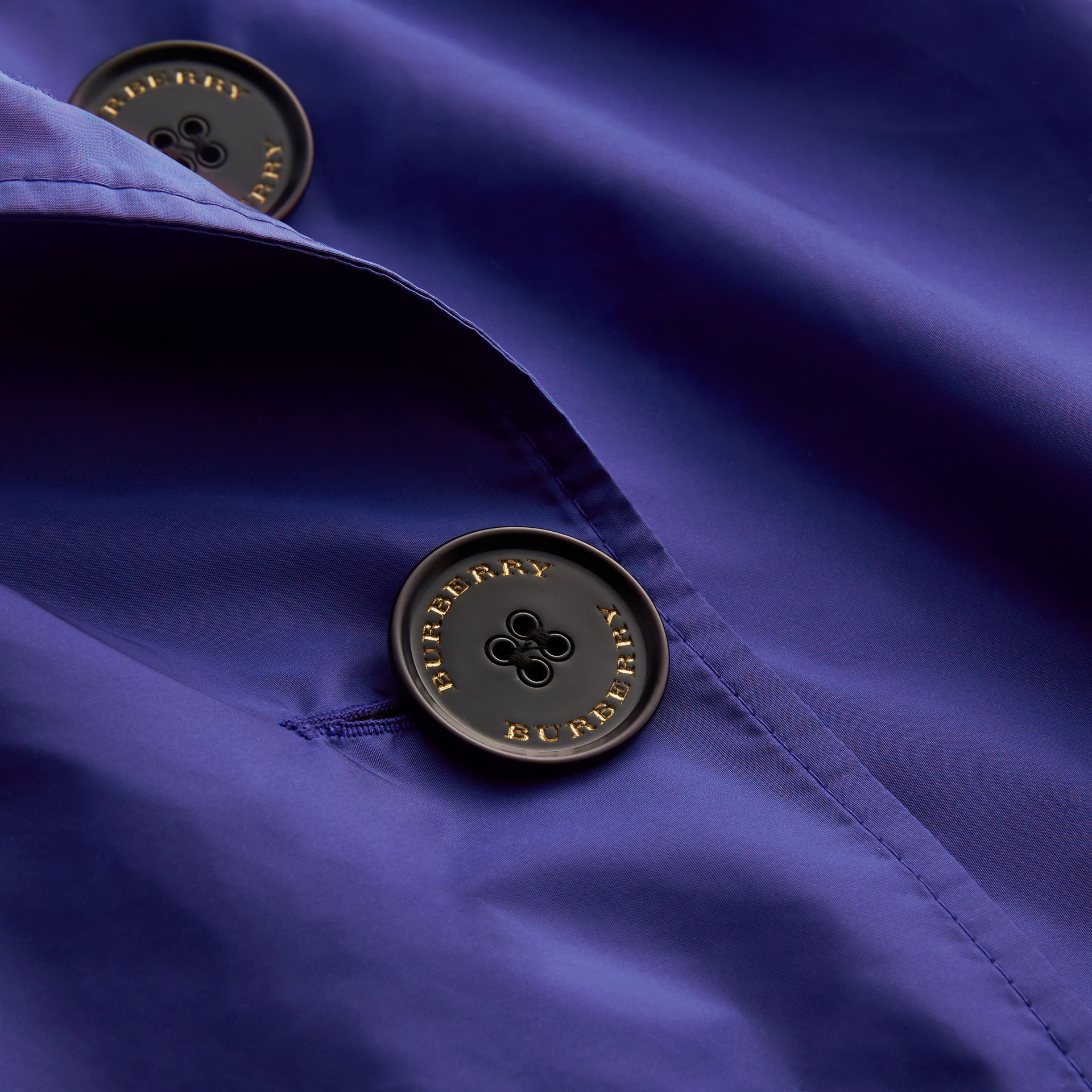 Showerproof Trench Coat in Sapphire Blue - Women | Burberry Canada - gallery image 2