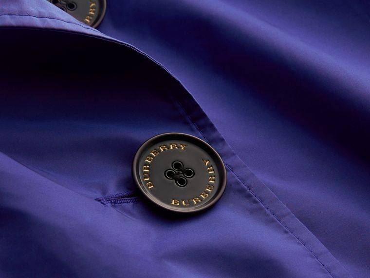 Showerproof Trench Coat in Sapphire Blue - Women | Burberry - cell image 1