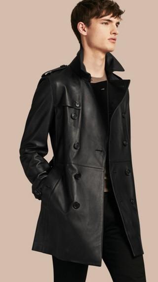 Lambskin Trench Coat