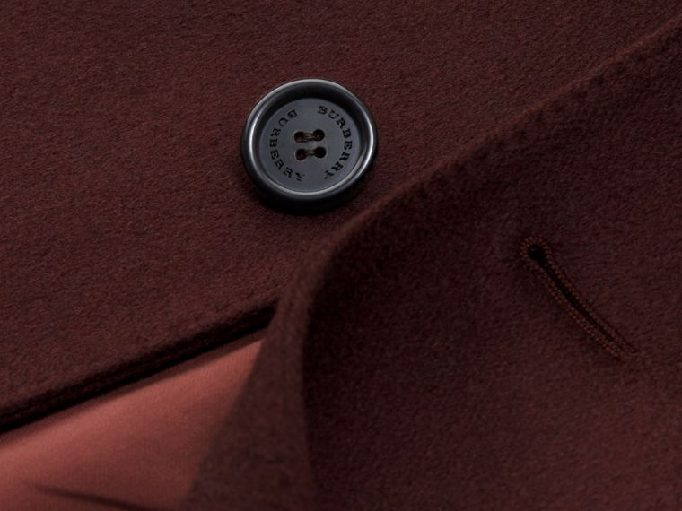 Plum Cashmere Overcoat - cell image 1