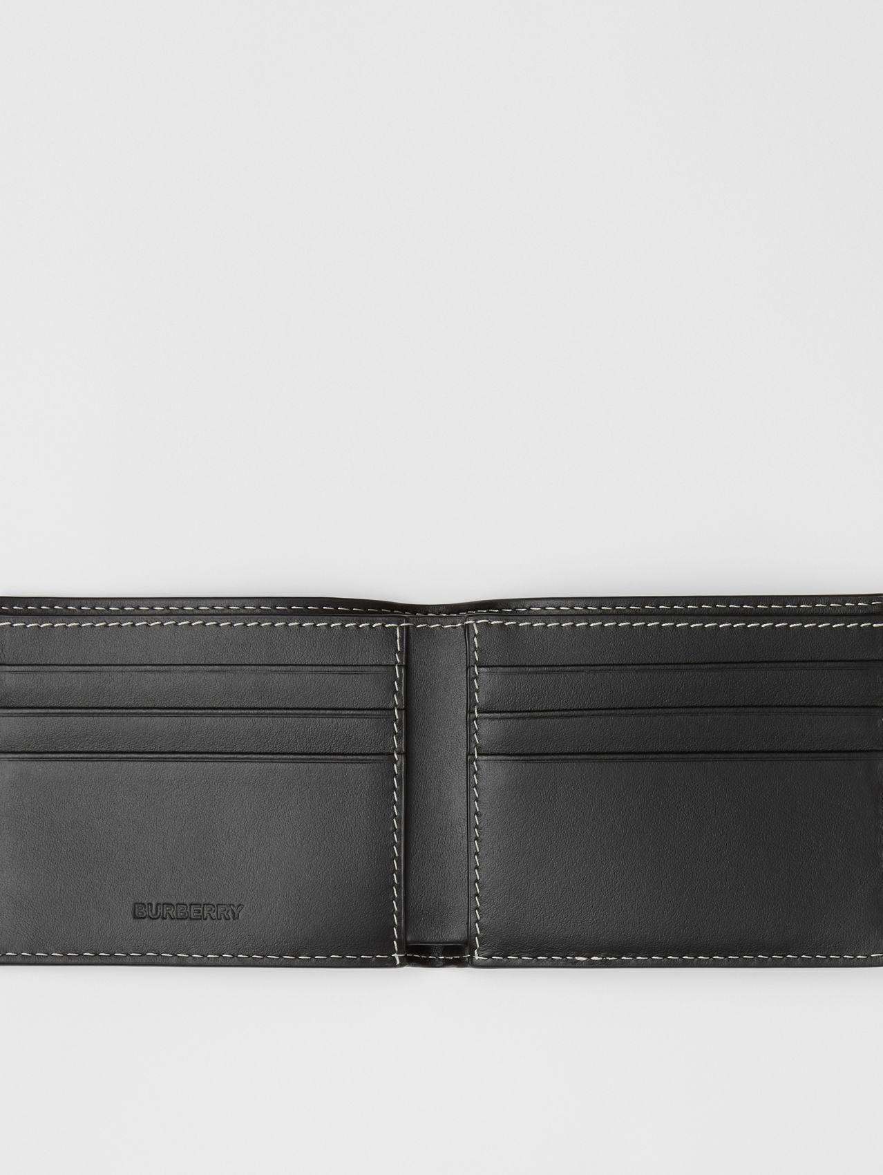 Check E-canvas International Bifold Wallet in Dark Birch Brown